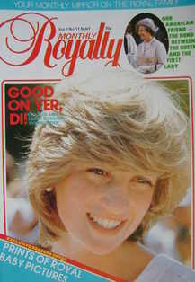 <!--1983-05-->Royalty Monthly magazine - Princess Diana cover (May 1983, Vo