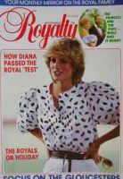 <!--0003-03-->Royalty Monthly magazine - Princess Diana cover (September 1983, Vol.3 No.3)