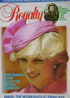 <!--1983-11-->Royalty Monthly magazine - Princess Diana cover (November 198
