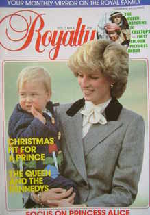 <!--1983-12-->Royalty Monthly magazine - Princess Diana and Prince William