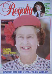 <!--1984-01-->Royalty Monthly magazine - The Queen cover (January 1984, Vol