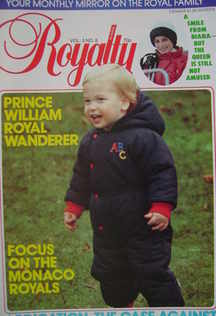 <!--1984-02-->Royalty Monthly magazine - Prince William cover (February 198