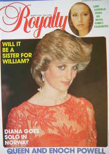 <!--1984-03-->Royalty Monthly magazine - Princess Diana cover (March 1984,