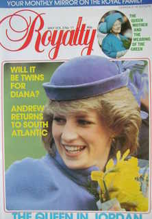 <!--1984-05-->Royalty Monthly magazine - Princess Diana cover (May 1984, Vo