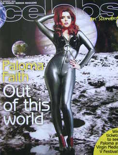 <!--2010-08-15-->Celebs magazine - Paloma Faith cover (15 August 2010)