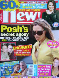 New magazine - 11 April 2005 - Victoria Beckham cover