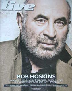 Live magazine - Bob Hoskins cover (5 September 2010)
