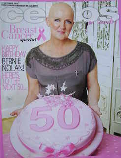 <!--2010-10-17-->Celebs magazine - Bernie Nolan cover (17 October 2010)