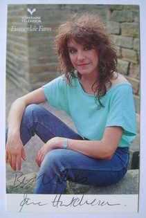 Jane Hutcheson autograph