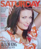 <!--2011-06-18-->Saturday magazine - Alison King cover (18 June 2011)