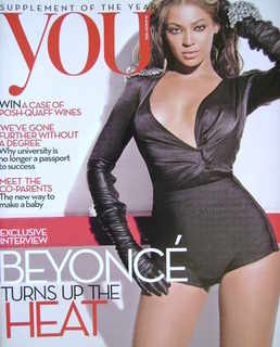 <!--2010-08-15-->You magazine - Beyonce Knowles cover (15 August 2010)