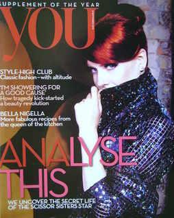 <!--2010-09-05-->You magazine - Ana Matronic cover (5 September 2010)