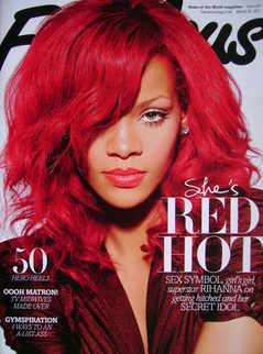 <!--2011-03-20-->Fabulous magazine - Rihanna cover (20 March 2011)