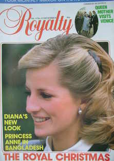 <!--1984-12-->Royalty Monthly magazine - Princess Diana cover (December 198