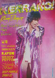 <!--1984-11-29-->Kerrang magazine - Prince cover (29 November - 12 December