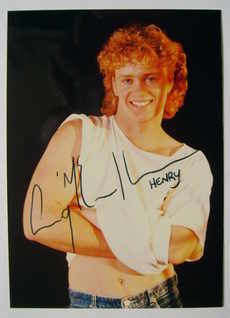 Craig McLachlan autograph (hand-signed photograph)