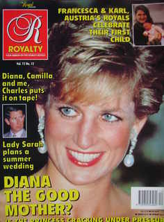 <!--1994-07-->Royalty Monthly magazine - Princess Diana cover (July 1994, V