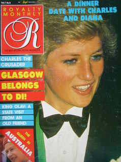 <!--1988-06-->Royalty Monthly magazine - Princess Diana cover (June 1988, V