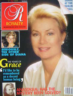 <!--1989-07-->Royalty Monthly magazine - Princess Grace of Monaco cover (Ju