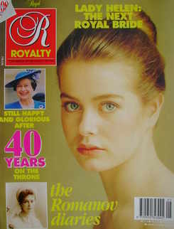 <!--1992-02-->Royalty Monthly magazine - Lady Helen Windsor cover (February