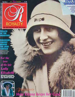 <!--1990-02-->Royalty Monthly magazine - Lady Elizabeth Bowes-Lyon cover (F