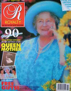<!--1990-08-->Royalty Monthly magazine - The Queen Mother cover (August 199