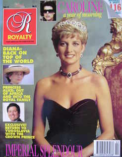 <!--1991-11-->Royalty Monthly magazine - Princess Diana cover (November 199