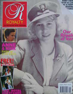 <!--1989-10-->Royalty Monthly magazine - Princess Elizabeth cover (October