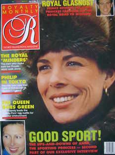 <!--1989-04-->Royalty Monthly magazine - Princess Caroline cover (April 198