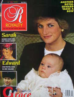 <!--1989-06-->Royalty Monthly magazine - Princess Diana cover (June 1989, V