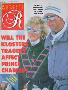 <!--1988-04-->Royalty Monthly magazine - Prince Charles and Princess Diana