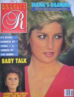 <!--1988-08-->Royalty Monthly magazine - Princess Diana cover (August 1988,