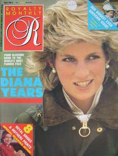 <!--1988-02-->Royalty Monthly magazine - Princess Diana cover (February 198