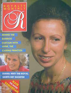 <!--1988-01-->Royalty Monthly magazine - Princess Anne cover (January 1988,