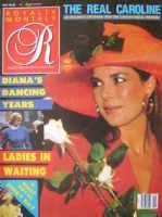 <!--0007-10-->Royalty Monthly magazine - Princess Caroline cover (July 1988, Vol.7 No.10)