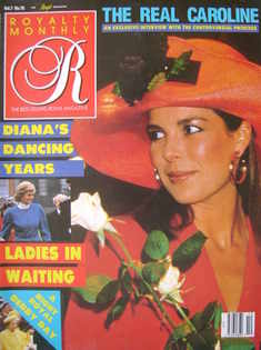 <!--1988-07-->Royalty Monthly magazine - Princess Caroline cover (July 1988