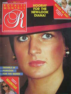 <!--1987-11-->Royalty Monthly magazine - Princess Diana cover (November 198