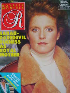 <!--1988-03-->Royalty Monthly magazine - The Duchess of York cover (March 1