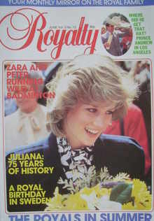 <!--1984-06-->Royalty Monthly magazine - Princess Diana cover (June 1984, V
