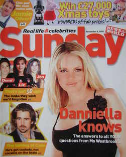 <!--2005-11-06-->Sunday magazine - 6 November 2005 - Danniella Westbrook co