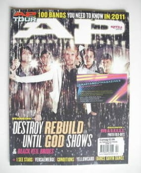 Alternative Press magazine - April 2011 - Destroy Rebuild Until God Shows cover (Cover 2)