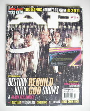 <!--2011-04-->Alternative Press magazine - April 2011 - Destroy Rebuild Unt