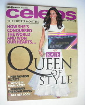 Celebs magazine - Kate Middleton cover (31 July 2011)
