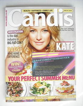 Candis magazine - June 2011 - Kate Hudson cover