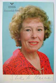 Sheila Mercier autograph