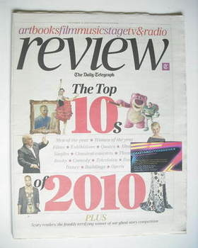The Daily Telegraph Review newspaper supplement - 11 December 2010