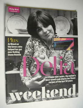Weekend magazine - Delia Smith cover (30 January 2010)