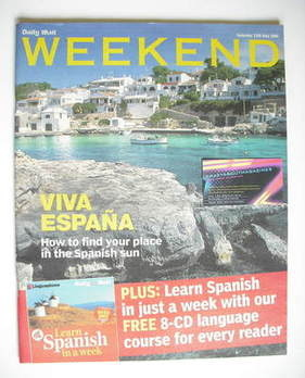 Weekend magazine - Viva Espana cover (13 May 2006)