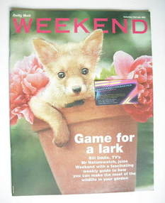 Weekend magazine - Game for a Lark cover (23 July 2005)