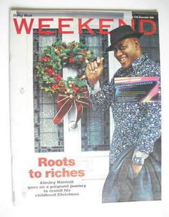 <!--2005-12-17-->Weekend magazine - Ainsley Harriott cover (17 December 200